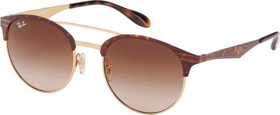 f2e312291b2fbf Ray-Ban RB3545 900813 - zonnebril - Tortoise-Goud   Bruin Gradiënt - 51mm