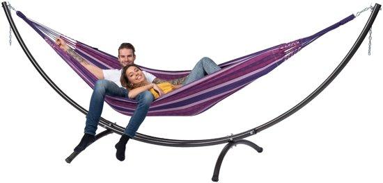 Hangmat met Standaard Tweepersoons 'Arc & Chill' Love