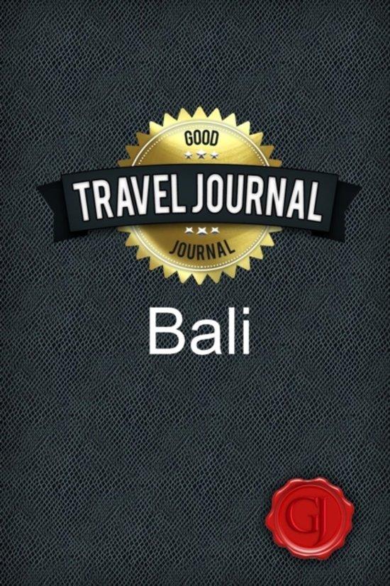Travel Journal Bali