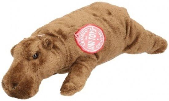 Pluche nijlpaard knuffel 25 cm