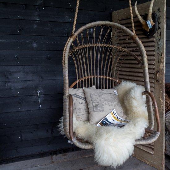 Hangstoel Van Touw.Bol Com Rotan Hangstoel Met Touw 80x70x110