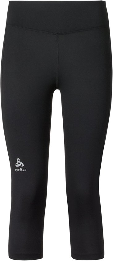Odlo Tights 3/4 Sliq Sportbroek Dames - Black