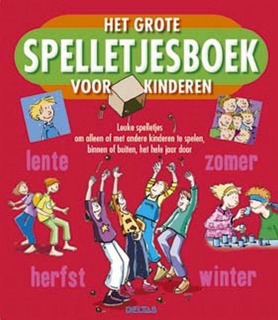 Zeer bol.com | Het grote spelletjesboek voor kinderen, Tom Dahlke  #MJ49