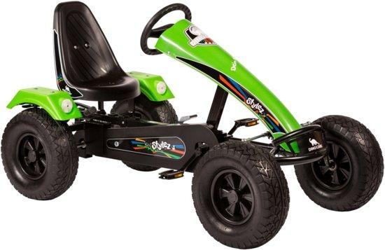 Dino Cars Stylez Skelter Met Off-road Banden Zwart / Groen