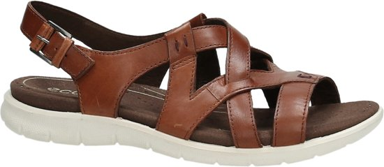 ECCO Flowt dames sandaal Cognac Maat 38