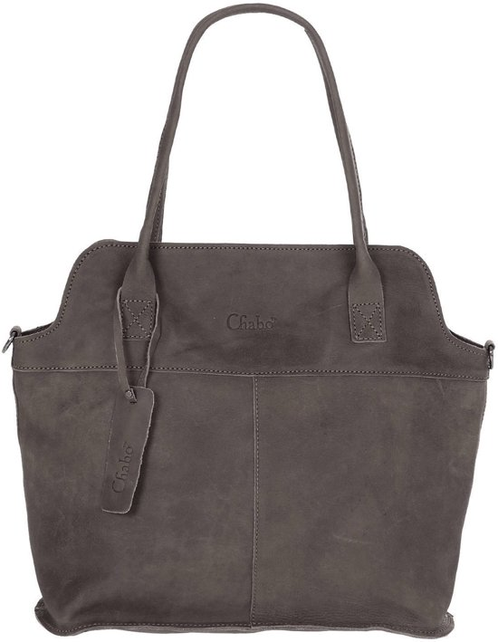 6c158b46d3c bol.com | Chabo Bags- Berlin Bag - Shopper - Elephant Grey