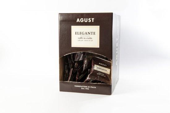 Caffé Agust Pods 44mm espresso Elegante mono verpakking