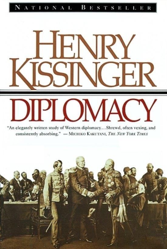 Boek cover Diplomacy van Henry Kissinger (Paperback)