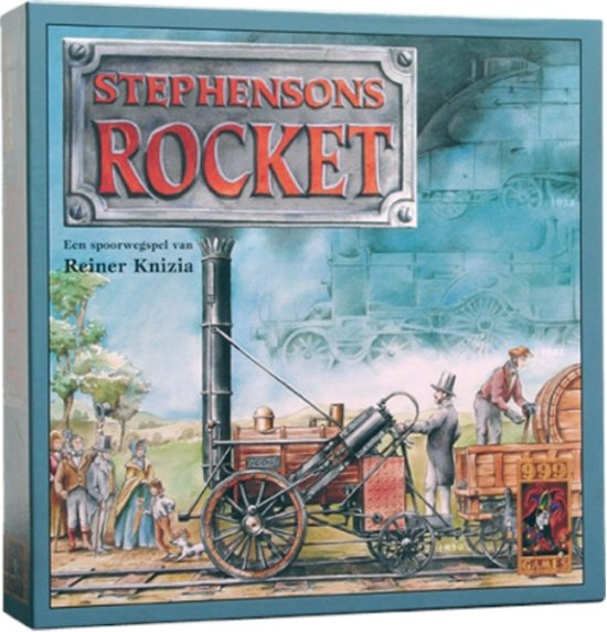 Bolcom Stephensons Rocket Bordspel 999 Games Speelgoed