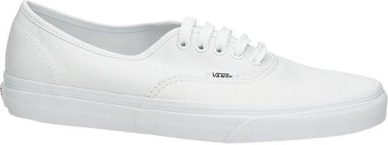 22ed68c4a6e bol.com | Vans Authentic Sneakers Unisex - True White - Maat 45
