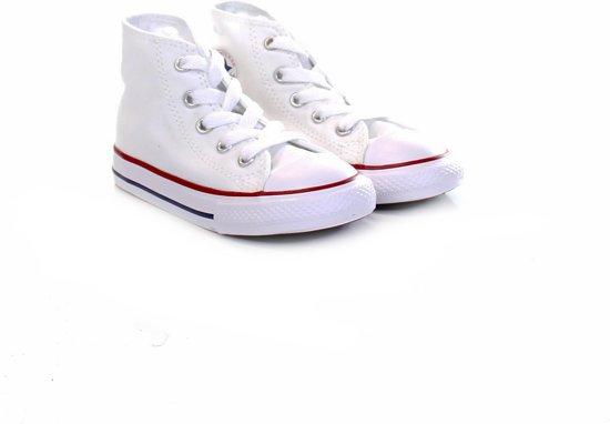 8007e56d884 bol.com | Converse Meisjes Sneakers Ctas Hi Kids - Wit - Maat 24