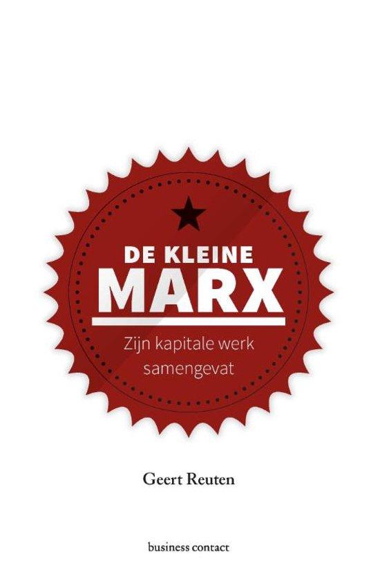 Boek cover De kleine Marx van Geert Reuten (Hardcover)
