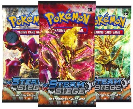 Afbeelding van het spel Pokemon 3 Booster Pakjes XY Steam Siege