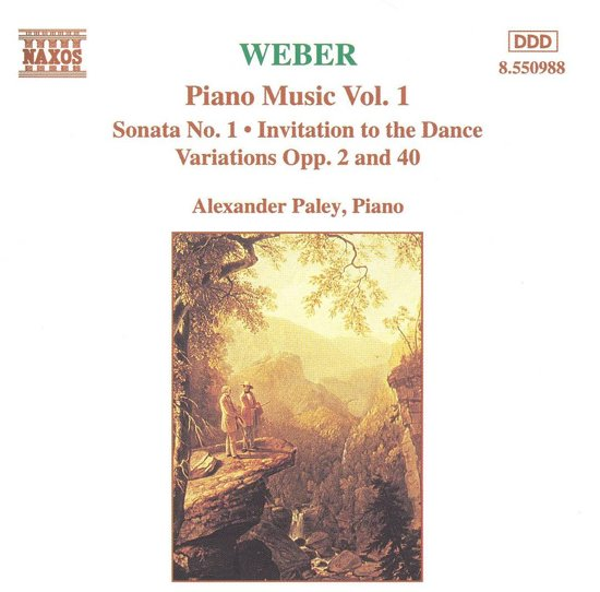Weber: Piano Works Vol 1 / Alexander Paley