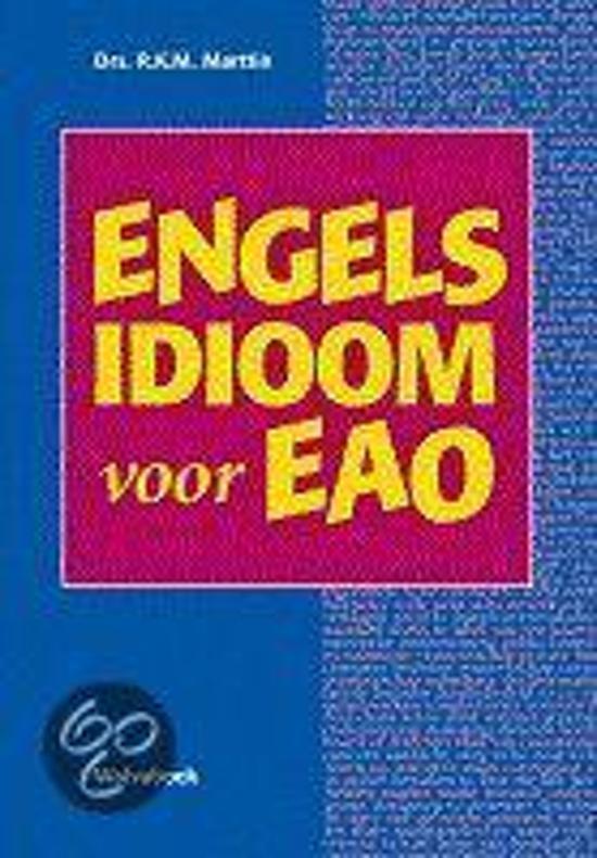 Verbazingwekkend bol.com | Engels idioom voor het EAO, K.M. Marttin | 9789066753174 UK-84