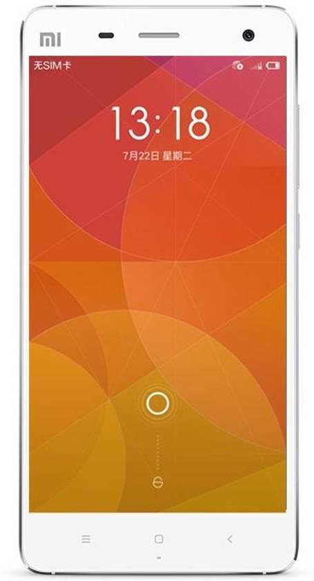 Xiaomi Mi4 5'' Single SIM 3GB 16GB 3080mAh Wit