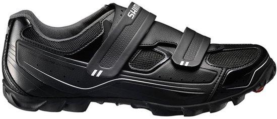 Shimano SH-M065L - Fietsschoenen - Unisex - Maat 38 - Zwart/ Wit
