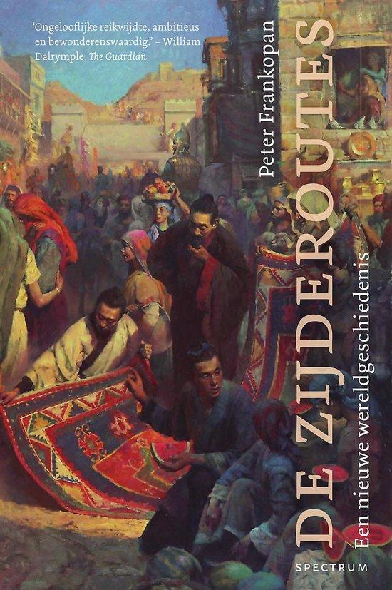 Boek cover De zijderoutes van Peter Frankopan (Hardcover)