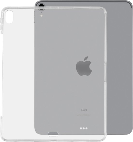 Let op type!! Schokbestendige TPU-beschermhoes voor iPad Pro 12 9 inch (2018)(Transparent)
