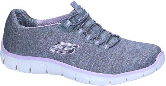 Skechers Fit Slip on Relaxed Grijze Sneakers EDHIW29