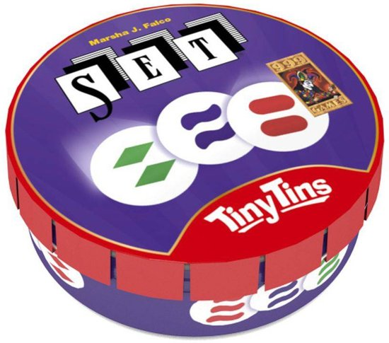 Tiny Tins - spel Set