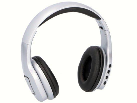 Draadloze Koptelefoon Grundig.Grundig Bluetooth Draadloze Koptelefoon Silver Edition Wit Met Zwart