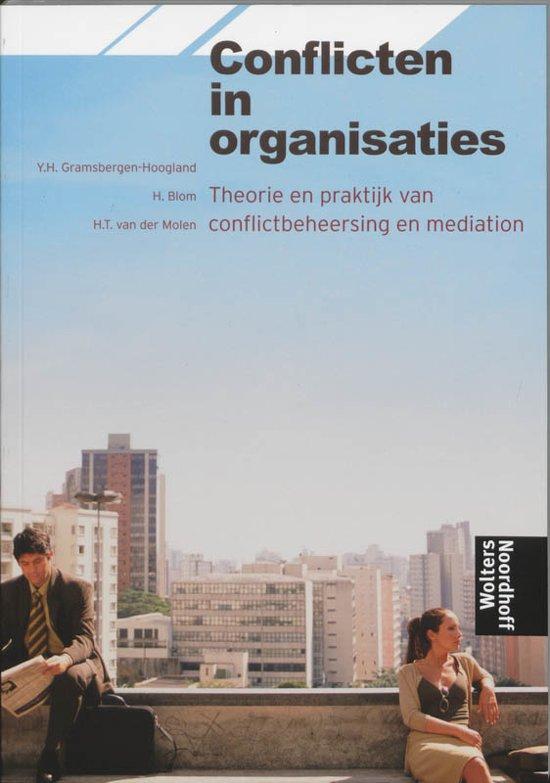 Boek cover Conflicten In Organisaties van Yvonne Gramsbergen-Hoogland (Paperback)