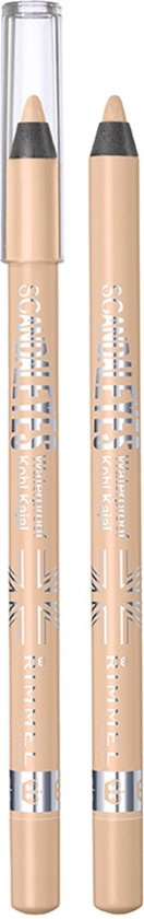 Rimmel London Scandal'Eyes Waterproof - 005 Nude - Oogpotlood