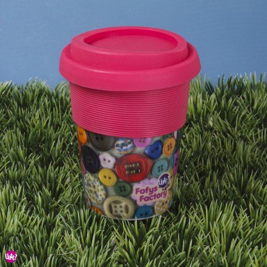 Uatt Cup With top - Drinkbeker - Roze