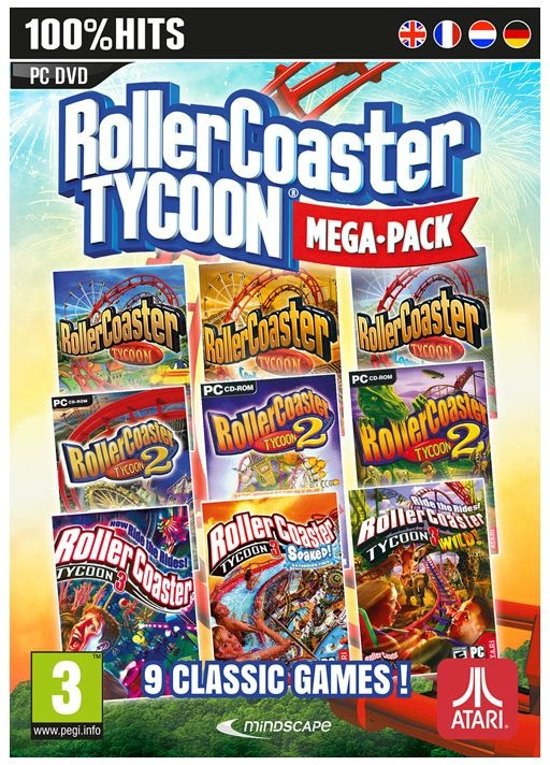 RollerCoaster Tycoon Mega Pack - Windows