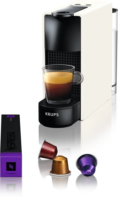 Krups Nespresso Essenza Mini XN1101 - Koffiecupmachine - Wit