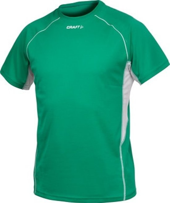 Craft sportshirt T&F heren groen maat XS