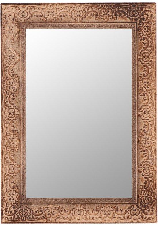 Spiegel Met Bruine Lijst.Bol Com Bruine Barok Spiegel 38 Cm