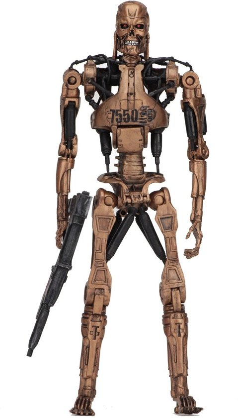 Terminator 2: Kenner Tribute -Metal Mash Endoskeleton - 7 inch Scale Action Figure