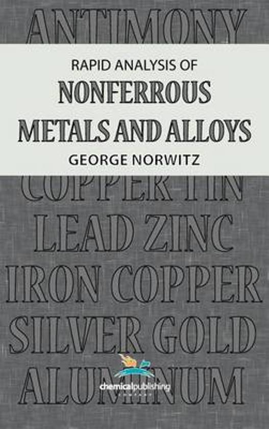 Rapid Analysis of Nonferrous Metals and Alloys