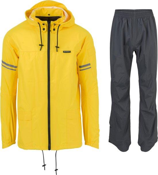 AGU Original - Regenpak - Unisex - Maat XL - geel