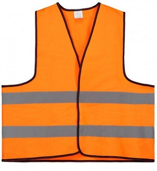 Veiligheidshesje - Veiligheidsvest - Volwassene - Oranje - 1 stuk