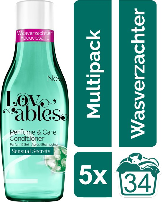 Lovables Conditioner - Sensual Secrets - Kwartaalbox - 170 wasbeurten - wasverzachter