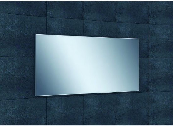 Afmeting Badkamer Spiegel : Bol.com badkamerspiegel benno 120x60x2 1cm aluminium lijst