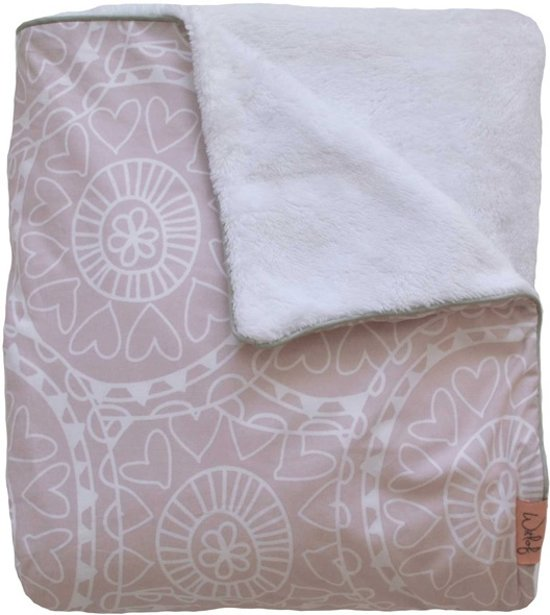 Witlof for kids Little Lof Tuck-Inn ledikantdeken Misty Pink