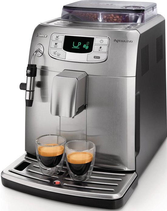 Saeco Intelia HD8752/85 - Volautomaat espressomachine - Metal