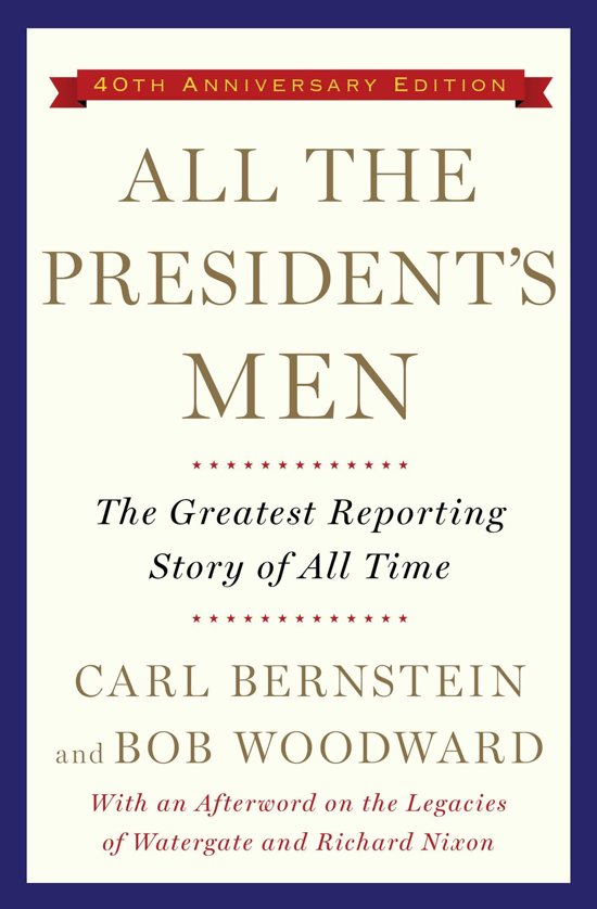 Boek cover All the Presidents Men van Carl Bernstein (Paperback)