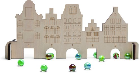 BS Toys Knikkerhuisjes - Marble House