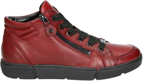 Ara Rome dames sneaker - Rood - Maat 37