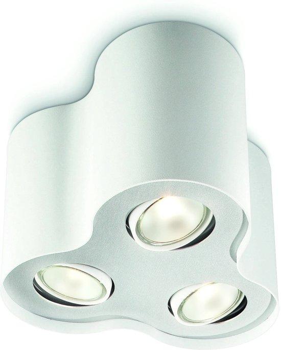 Philips myLiving Pillar - Opbouwspot - 3 Lichtpunten - wit