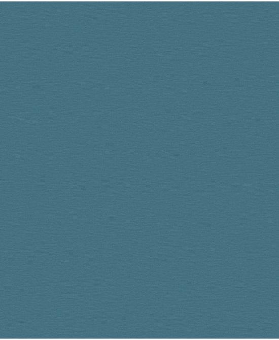Bekend bol.com | Textured Plains uni d.blauw behang (vliesbehang, blauw) RT83