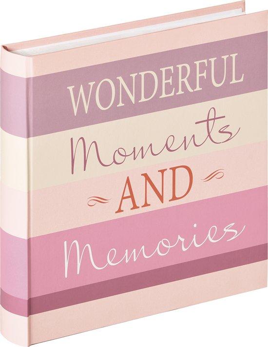 Walther Moments - Fotoalbum - 30x30 cm - 100 pagina's - Design Wonderful