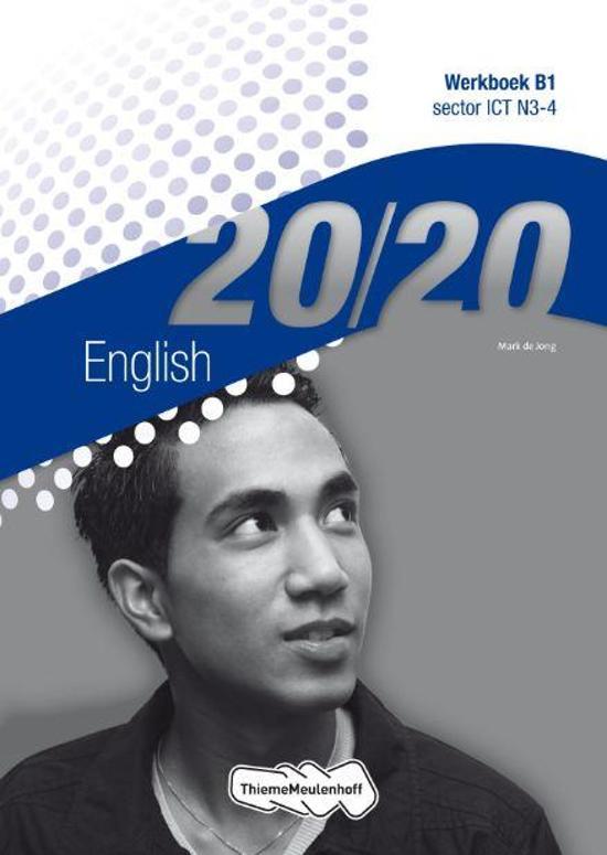 20 20 English sector ICT N3 4 deel Werkboek B1