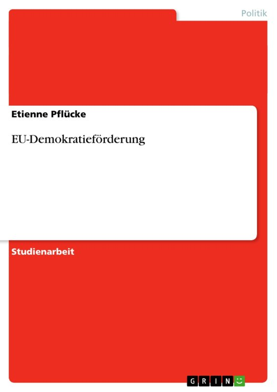 EU-Demokratieförderung