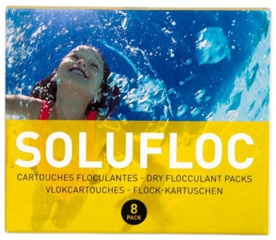 Pool Power Solufloc 8 Zakjes